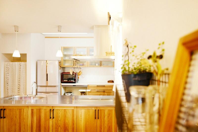 美濃加茂の匠建の社長モデルルームキッチン