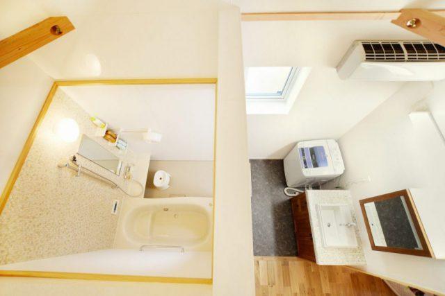 美濃加茂で新築注文住宅のお風呂場イメージ