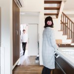 美濃加茂で新築注文住宅の匠建の玄関
