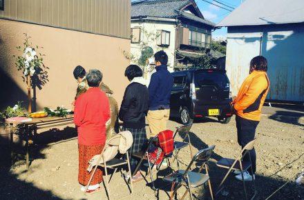 美濃加茂で注文住宅なら匠建の地鎮祭