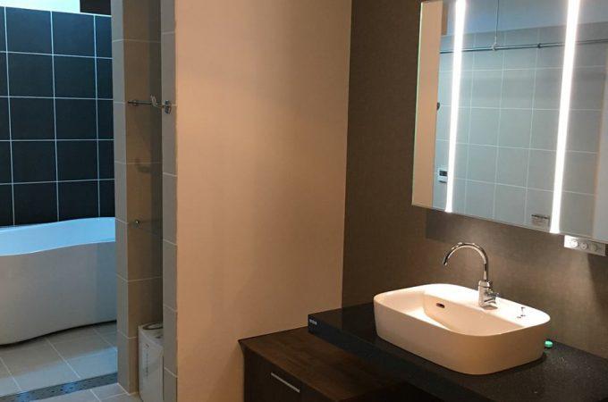美濃加茂の匠建のバスルーム