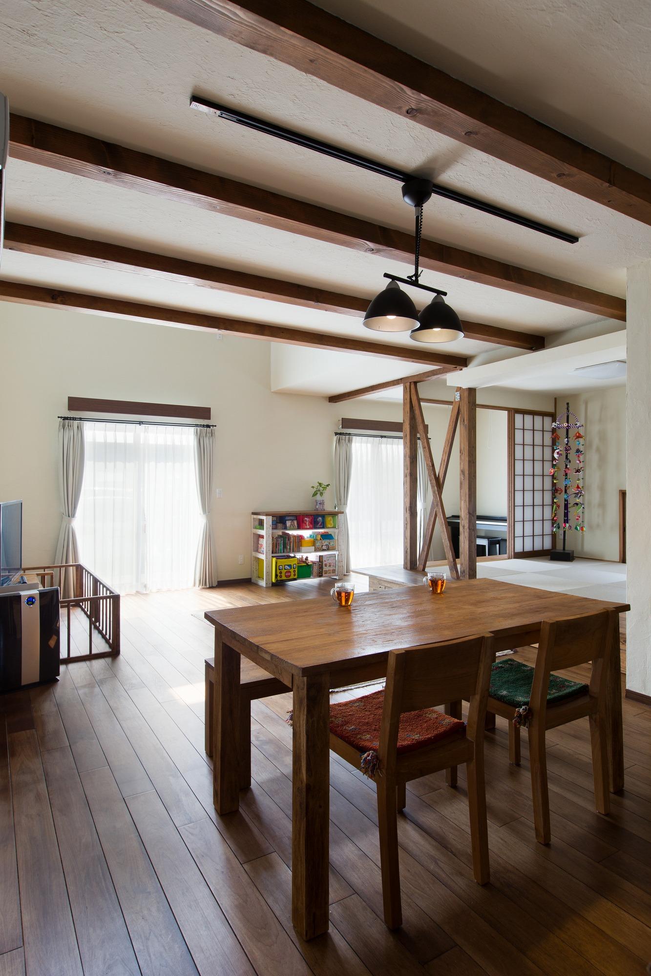 美濃加茂の匠建で希望が叶った暖かい家