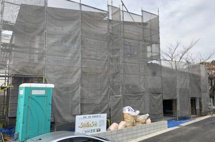 美濃加茂の匠建、ブログ仮設トイレの清掃
