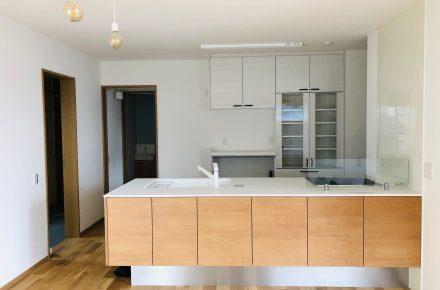 美濃加茂の匠建、キッチンスペース