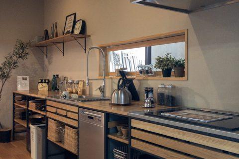 美濃加茂の匠建、キッチン家具